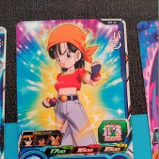 Trading Cards: TCG DRAGON BALL Z/GT HEROES CARD CARDDASS PRISM CARTE SH1-46. Lote 113535031