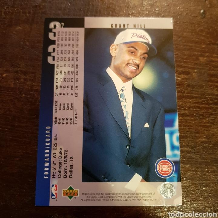 Nba Grant Hill Detroit Pistons Rookie 94 95 N 157 Upper Deck 94 95
