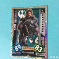 Trading Cards: STAR WARS - FORCE ATTAX - UNIVERSE (TOPPS 2017) SAW GERRERA - Nº 239. Lote 114250111