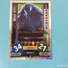 Trading Cards: STAR WARS - FORCE ATTAX - UNIVERSE (TOPPS 2017) MAX REBO - Nº 250. Lote 114250771