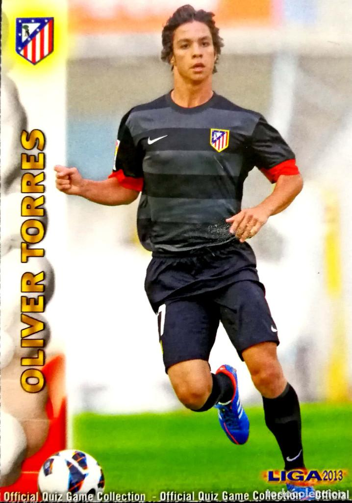 125 Oliver Torres Atletico De Madrid Mundicromo Mc Quiz Game Liga 2012 2013 12 13