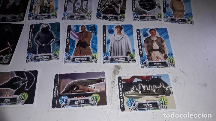 Trading Cards: 23 TRADING CARDS...STAR WARS...FORCE ATTAX... - Foto 5 - 114514067