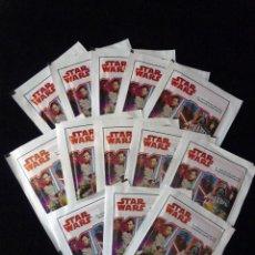 Trading Cards: LOTE 13 SOBRES CARTAS COLECCIONABLES. STAR WARS, EL CAMINO DE LOS JEDI. 39 CARTAS. DISNEY. CARREFOUR. Lote 115086095