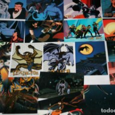 Trading Cards: JUEGO DE 35 CARTAS, GARGOYLES, SKYBOX TM BVTV, TRADING CARDS. Lote 115663863