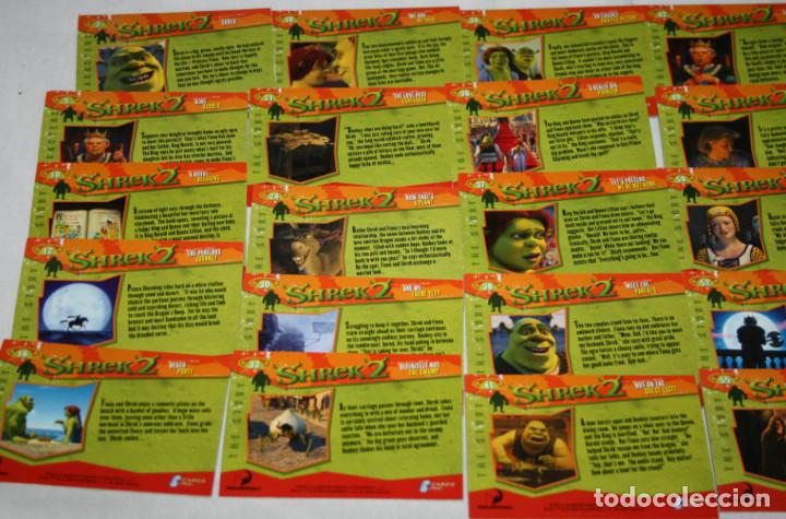 Lote De 26 Cartas Holograma Shrek 2 Dreamwork Buy Old Trading Cards At Todocoleccion 116120375