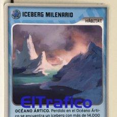 Trading Cards: INVIZIMALS DESAFIOS OCULTOS 2009-2013 PANINI - 438 ICEBERG MILENARIO. Lote 116363587