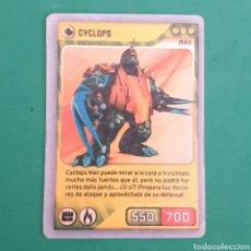 Trading Cards: INVIZIMALS - DESAFIO OCULTO 2009-2013 - CYCLOPS. Lote 117815263