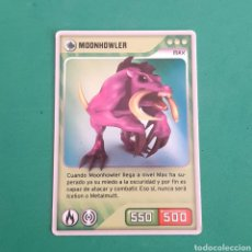 Trading Cards: INVIZIMALS - DESAFIO OCULTO 2009-2013 - MOONHOWLER. Lote 117815767
