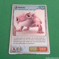Trading Cards: INVIZIMALS - DESAFIO OCULTO 2009-2013 - AXOLOT. Lote 117815991