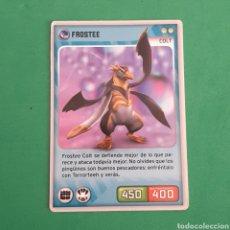 Trading Cards: INVIZIMALS - DESAFIO OCULTO 2009-2013 - FROSTEE. Lote 117816032