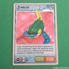 Trading Cards: INVIZIMALS - DESAFIO OCULTO 2009-2013 - KRILLER. Lote 117817275