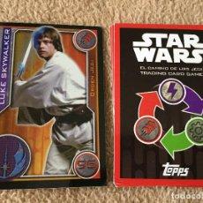 Trading Cards: LUKE SKYWALKER 95 FOIL STAR WARS TRADING CARD GAME TOPPS KREATEN. Lote 118080151