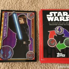 Trading Cards: ANAKIN SKYWALKER 93 FOIL STAR WARS TRADING CARD GAME TOPPS KREATEN. Lote 118080283