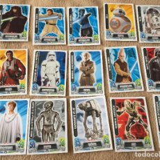 Trading Cards: STAR WARS STARWARS FORCE ATTAX TRADING CARD GAME TOPPS MUCHAS CARTAS CARTA CARDS KREATEN. Lote 118082999