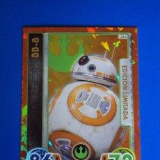 Trading Cards: BB-8 CARD EDICIÓN LIMITADA LEBA. STAR WARS. FORCE ATTAX EXTRA. TOPPS. NUEVA. CARTA.. Lote 128514251