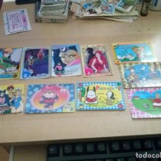 Trading Cards: LOTE DE 10 TRADING CARDS JAPONESAS. Lote 118250039