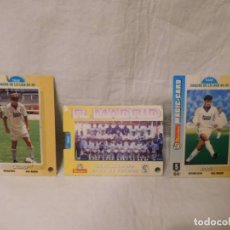 Trading Cards: M69 LOTE DE CROMOS. EQUIPO REAL MADRID, LAUDRUP Y MICHEL. PREMIUM MATUTANO. MAGIC CARD CRACKS. AÑO94. Lote 118677967