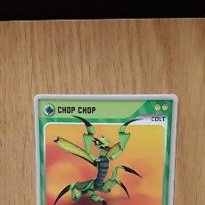 Trading Cards: CARTA CROMO INVIZIMALS...CHOP CHOPIN...COLT...#155...DESAFIOS OCULTOS...2009-2013.... Lote 118722796