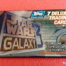 Trading Cards: F-500- SOBRE TOPPS TRADING CARDS STAR WARS GALAXY. SIN ABRIR. DE 1995.. Lote 118832627