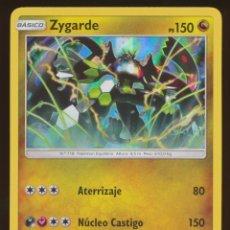 Trading Cards: #100/147. ZYGARDE (RARA HOLO) - S&L SOMBRAS ARDIENTES - CARTA POKEMON. Lote 118922311