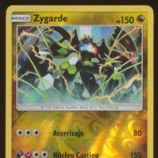 Trading Cards: #100/147. ZYGARDE (RARA REVERSE HOLO) - S&L SOMBRAS ARDIENTES - CARTA POKEMON. Lote 118922471