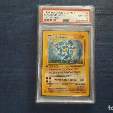 Trading Cards: POKEMON 1999 HOLO MACHAMP PSA 8. Lote 120407935