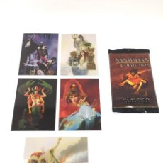 Trading Cards: SANJULIAN COLLECTION TRADING CARDS 1994 5 METALLIC STORM SET COMPLETO. Lote 161295578