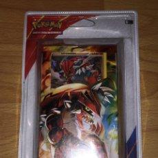 Trading Cards: POKEMON MAZO PULSO TERRESTRE (XY DUELOS PRIMIGENIOS) BARAJA. Lote 125864735