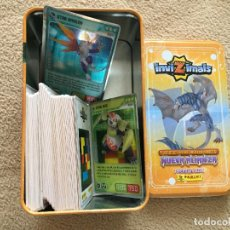 Trading Cards: CARTAS COLECCIONABLES INVIZIMALS TCG TRADING CARD GAME KREATEN CARTA. Lote 121312395