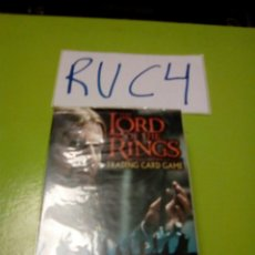 Trading Cards: CAJA THE LORD OF THE RINGS TRADING CARD GAME REALMS OF THE LORDS 63 CARD BOROMIR STARTER DECK INGLES. Lote 121820211