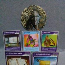 Trading Cards: LOTE 5 CARTAS INVIZIMALS - 2009 / 2013 PANINI - SIN USO.. Lote 125916146