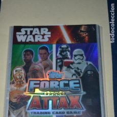 Trading Cards: STARS WARS FORCE ATTAX INCOMPLETO LE FALTAN 30 CARTAS. Lote 122804447