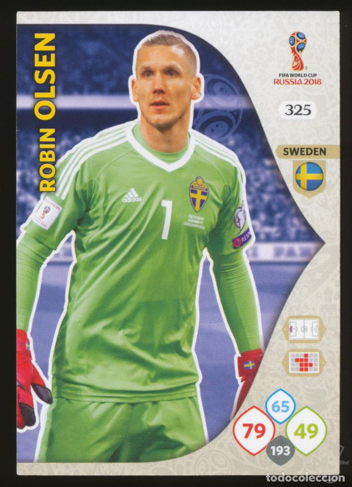 325 Panini WORLD CUP 2018 ADRENALYN XL-Robin Olsen Suecia no
