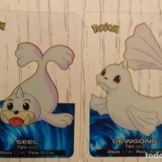 Trading Cards: CARTAS POKEMON SEAL Y EVOLUCIÓN . Lote 129395131