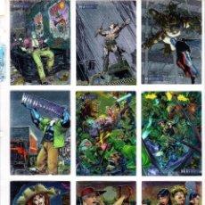 Trading Cards: WILDSTORM ARCHIVES I Y II. 198 CHROMIUM TRADING CARDS. LAS 2 COLECCIONES COMPLETAS. IMAGE. Lote 56828337