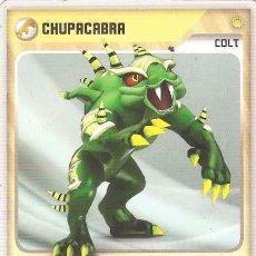 Trading Cards: INVIZIMALS, DE PANINI. CHUPACABRA - COLT. TRADING CARD Nº 101.. Lote 130363818