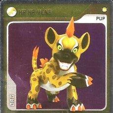 Trading Cards: INVIZIMALS, DE PANINI. HA HA YENA - PUP ORO. TRADING CARD Nº 145.. Lote 130449934