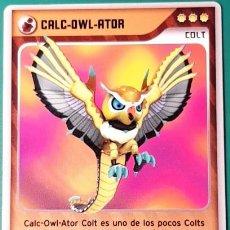 Trading Cards: INVIZIMALS, DE PANINI. CALC-OWL-ATOR - COLT. TRADING CARD Nº 263.. Lote 130874280
