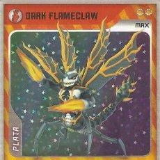 Trading Cards: INVIZIMALS, DE PANINI. DARK FLAMECLAW - MAX PLATA. TRADING CARD Nº 307.. Lote 130908612