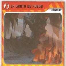 Trading Cards: INVIZIMALS, DE PANINI. GLACIAR DE ATHABASCA - HÁBITAT. TRADING CARD Nº 437.. Lote 131129432