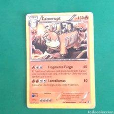 Trading Cards: (C-PK.01) CARTA POKEMON - CAMERUPT. Lote 131280614