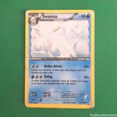 Trading Cards: (C-PK.01) CARTA POKEMON - SWANNA. Lote 131280850