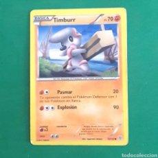 Trading Cards: (C-PK.01) CARTA POKEMON - TIMBURR. Lote 131280887