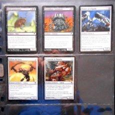 Trading Cards: 5 CARTAS MAGIC ( DARKSTEEL ) PANTANO. Lote 131283427
