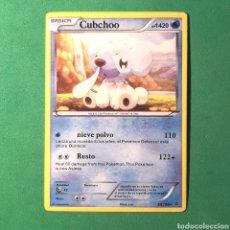 Trading Cards: (C-PK.01) CARTA POKEMON - CUBCHOO. Lote 131287006