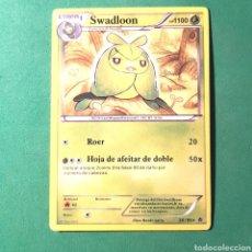 Trading Cards: (C-PK.01) CARTA POKEMON - SWADLOON. Lote 131287094