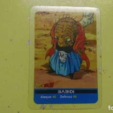 Cartas Colecionáveis: CARTA DRAGON BALL Z BABIDI SHUEISHA TOEI LAMINCARDS. Lote 131695986
