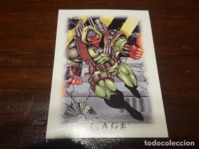 Trading Cards: 1995 Skybox Younblood stickers Set de 3 adhesivos de la coleccion de trading cards En perfecto esta - Foto 3 - 131924234