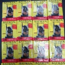 Trading Cards: SOBRE CERRADO BATMAN RETURNS MOVIE PHOTO CARDS TOPPS 1992. Lote 132058434