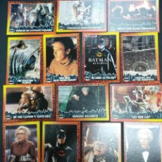 Trading Cards: BATMAN RETURNS NÚMERO 4 MOVIE PHOTO CARDS TOPPS 1992. Lote 132063886